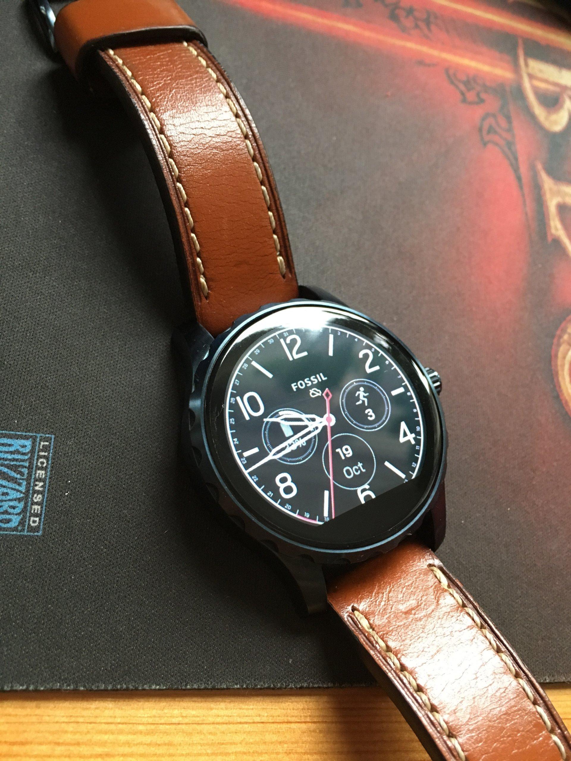 Fossil Q Marshal Gen 2 Smartwatch Skra Ftw2106p 7007712697