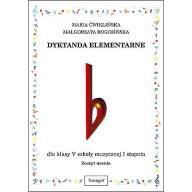 Dyktando elementarne V