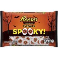 Reese's peanut butter eyeballs spooky Halloween