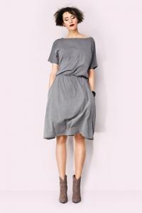 226bce91d1 Kasia Miciak modna sukienka midi z kieszeniami S - 5600582308 ...