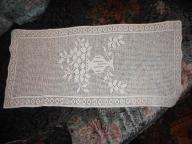 Bawełniana serwetka  biała prostokątna