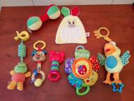 zawieszki do łóżeczka i inne zabawki dla najmłodsz