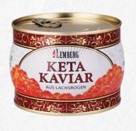 Kawior czerwony z łososia (Keta) Premium 500g
