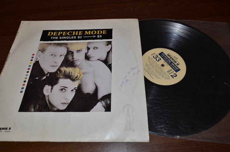 Depeche Mode - The Singles 81  85 - EX