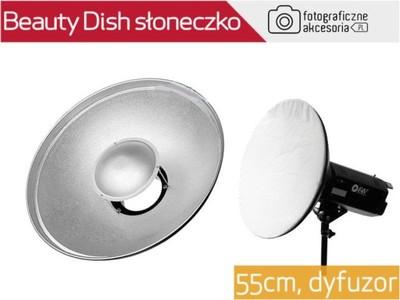 Beauty dish SŁONECZKO BOWENS czasza średnica 55cm