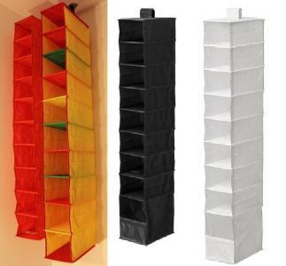 Szafa Wiszące Ikea Kieszenie Półki Organizer 3528331494