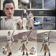 STAR WARS EPISODE VII MM REY & BB-8 - 28 CM
