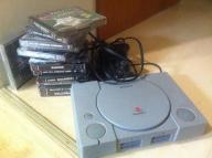 psx konsola i troche gier gry oryginalne ps1 bcm