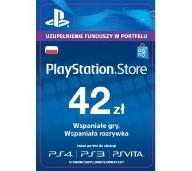KARTA PLAYSTATION NETWORK PSN 42 ZŁ AUTOMAT 24/7