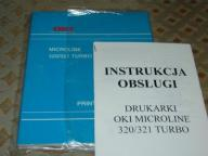 Instrukcja OKI Microline 320 / 321 Turbo ang + pol