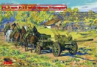 ICM 35802 - 76,2 mm F-22 with Horse Transport 1:35