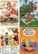 HUMOR - zestaw 4 pocztówek