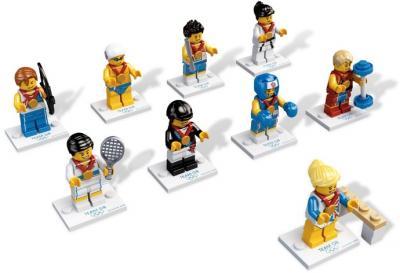 Lego 8909 Team GB Londyn 2012 - kolekcja ŚLĄSK