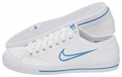 Groovy Buty Damskie Tenisówki Nike WMNS Capri Białe r. 38 - 3863276606 KI88