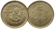 9.NEPAL, 5 RUPII 1980 KOBIETY ...