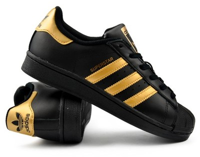 adidas superstar zlote damskie