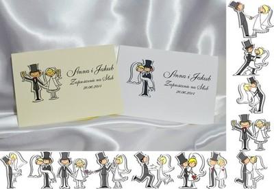 Zaproszenia Na ślub Zawiadomienia ślubne Na Wesoło 6082157204