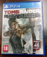 TOMB RAIDER DEFINITIVE EDITION PS4 PL