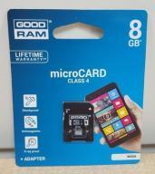 KARTA PAMIĘCI GOOD RAM 8GB NOWA