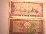 Rumunia  banknot obiegowy 10 LEI 1966 R.
