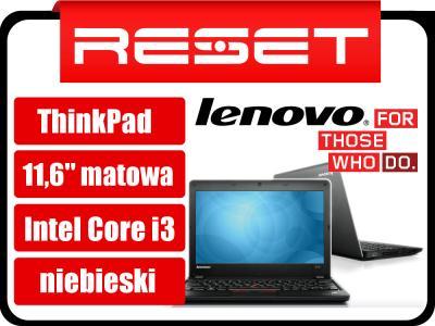Lenovo Thinkpad E130 11,6 i3 4GB 500GB Win 7 BLUE