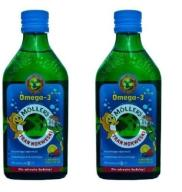 Tran Mollers Owocowy 2 x 250 = 500 ml Omega-3