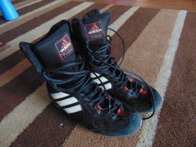 Hurt największa zniżka jakość wykonania Buty bokserki adidas TYGUN