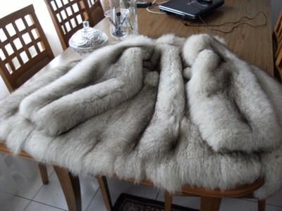 af07d8a59ea48 Lisy srebrne luksusowe naturalne j. ochnik zara - 6902018543 ...