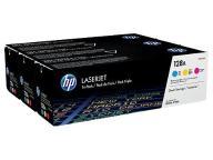 HP Toner CP1525/CM1415 CMY 3-Pack CF371AM