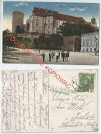 Kraków, Wawel, K.U.K. cenzura Przemyśl, 1915