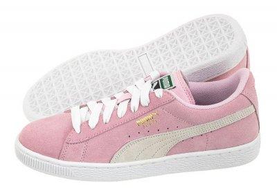 Sneakersy Damskie Puma Suede Classic Wn's Różowe | Tania