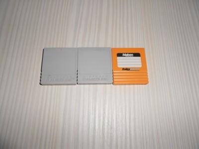 Zestaw 3 kart pamięci do Nintendo GameCube