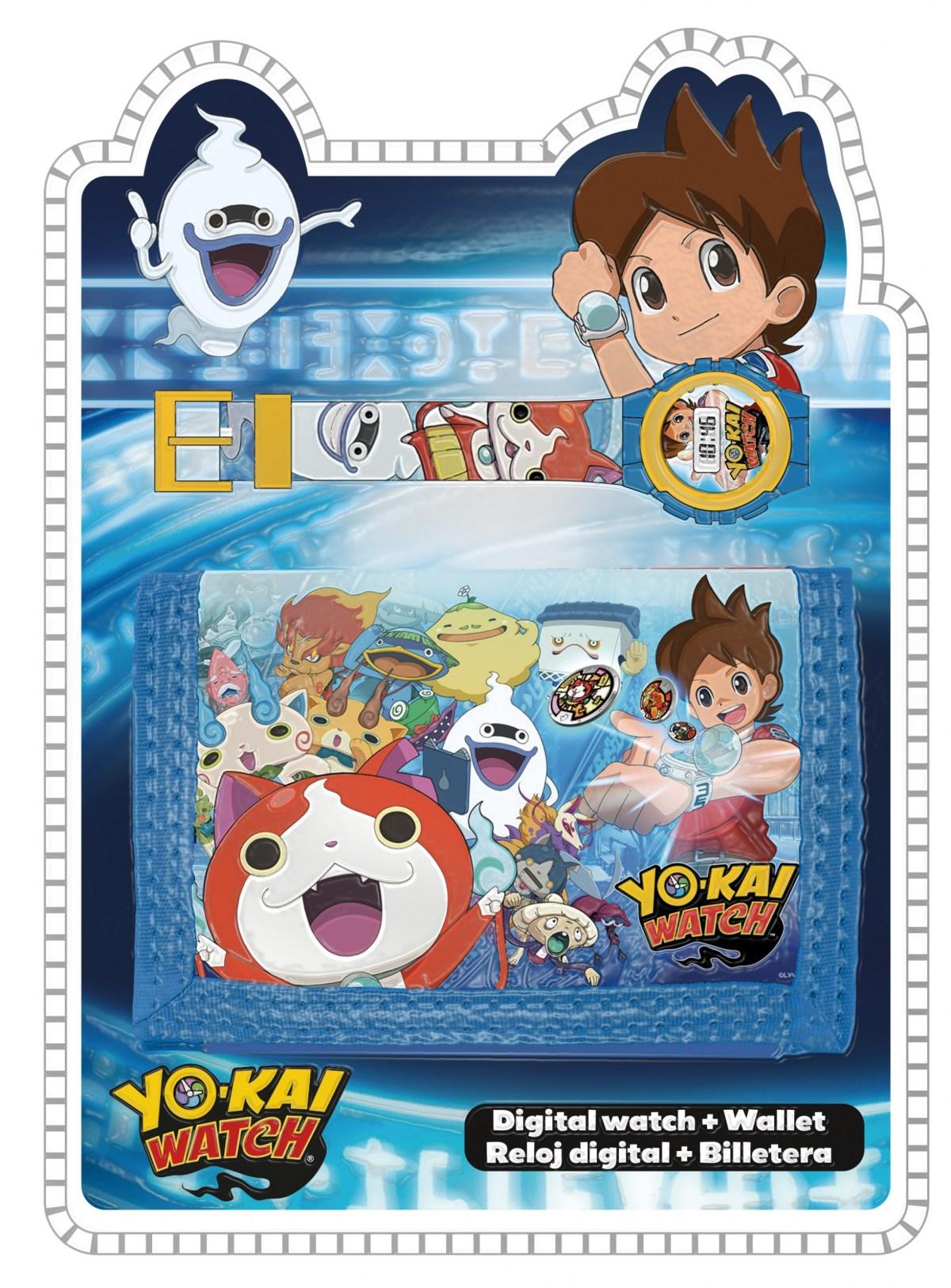 Zegarek na rękę + portfel Yo-Kai Watch MEGA