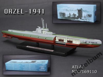 Atlas polski okręt podwodny ORP Orzeł