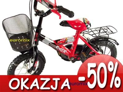 R08 ROWER DZIECIĘCY ROWEREK BMX 12 CALI KOSZYK