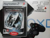 MEDAL OF HONOR WOJNA W EUROPIE PS2 PLAYSTATION 2