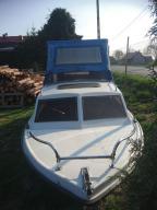 łódź kabinowa motorówka łódka ROMANA długa 4.9m