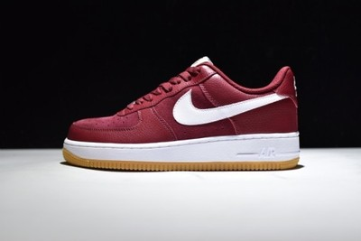 nike air force bordowe