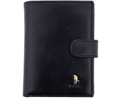 75db0a41d35a3 Skórzany portfel męski PUCCINI 1400 czarny prezent - 5601505440 ...
