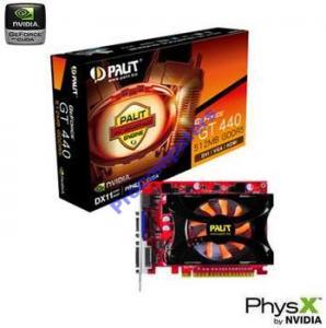PALIT GeForce GT440 1GB  DDR5! (810/3200) DX11 BOX