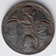Medal Jan Kalwin 300 lat reformacji 1535-1835