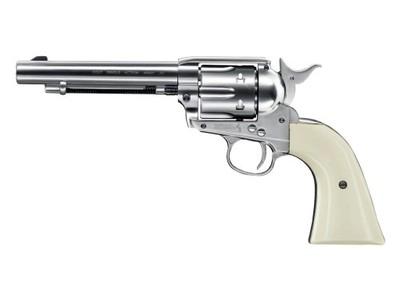 "Rewolwer Colt SAA .45-5,5"" nikiel 4,5 mm"