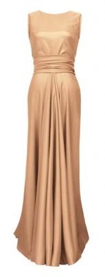 ec60f66f12f137 CAMILL 193a złota sukienka wysyłka 24h rozm.48 - 6270303781 ...
