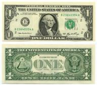 -- USA 1 DOLLAR 2006 B NEW YORK BA  P523 UNC