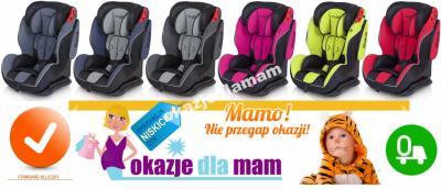 OKAZJA fotelik MAXIMA ochrona SPS easyGo + GRATISY