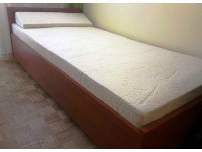 łóżko Jednoosobowe Grenada Z Materacem 6672976485
