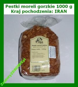PESTKI MORELI gorzkie 1 kg GRECJA / ŚWIEŻA DOSTAWA