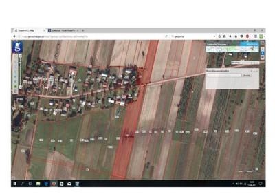 Działka rolno - budowlana