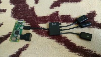 Raspberry Pi Zero W V1.1 wifi bluetooth hub usb