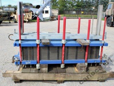 Wymiennik ciepła płytowy skręcany przemysłowy